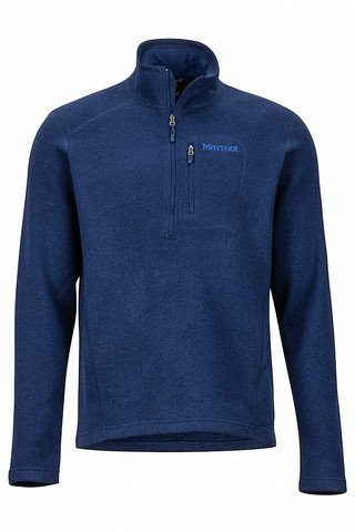 Drop Line 1/2 Zip - Arctic Navy