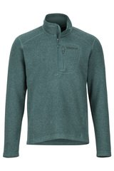Drop Line 1/2 Zip - Mallard Green