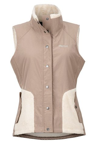 Marmot Women's Mia Vest - Cappuccino-Oatmeal