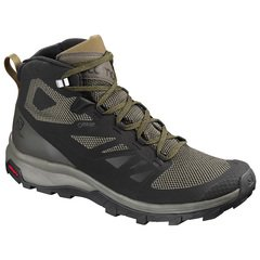 Salomon Men's Outline Mid GTX Boots - Black-Beluga