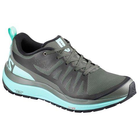 Salomon Odyssey Pro Womens Shoes - Castor Gray-Eggshell