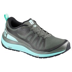 Salomon Odyssey Pro Womens Shoes - Castor Gray-Eggshell