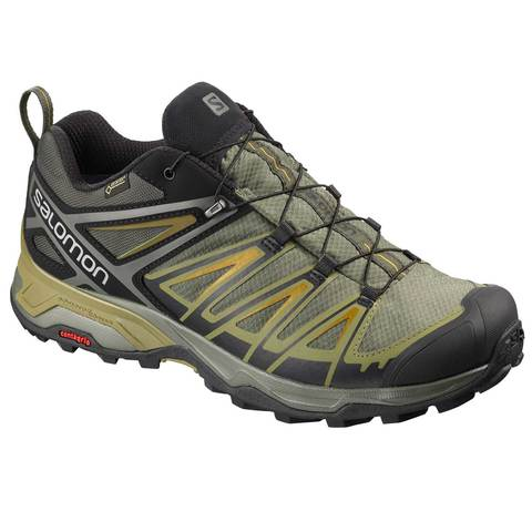 Salomon Men's X Ultra 3 GTX Shoes - Castor-Beluga