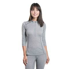 Kuhl Akkomplice Zip-Neck Thermal Top - Ash