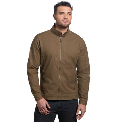 Kuhl Men's Double Kross Jacket - Dark Khaki