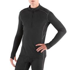 Kuhl Akkomplice Zip-Neck Thermal Top - Carbon