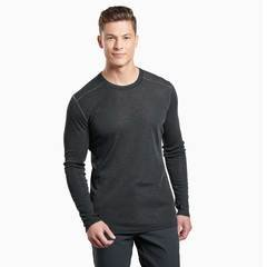 Kuhl Akkomplice Crew Neck Thermal Top - Carbon