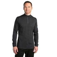 Kuhl Men's Skar 1/4 Zip Long Sleeve Shirt - Black