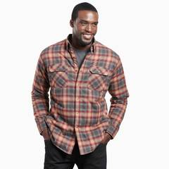 Kuhl Men's Joyrydr Long Sleeved Shirt - Spiced Rum