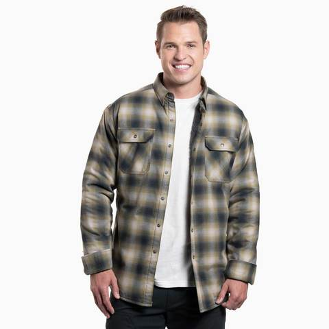 Kuhl Men's Joyrydr Long Sleeved Shirt - Dark Moss