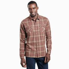 Kuhl Men's Dillingr Long Sleeve Shirt - Mocha