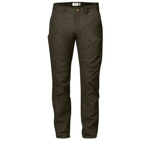 Fjallraven Sormland Tapered Trousers - Dark Olive