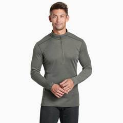Kuhl Akkomplice Zip-Neck Thermal Top - Olive